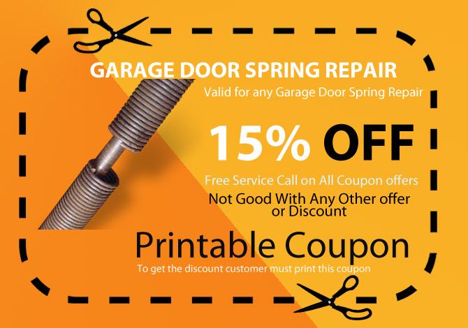 Coupon for Garage door repair agoura hills